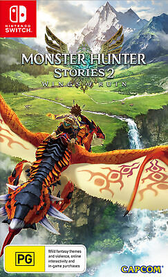 AU74.95 • Buy Monster Hunter Stories 2 Wings Of Ruin Switch Game NEW