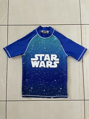 £3.50 • Buy Boys Star Wars Swim Top / Sun Protection Age 11 *Excellent Condition*