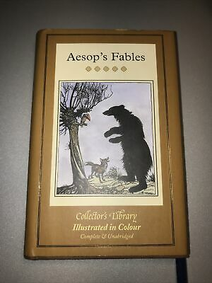 £4.95 • Buy Aesop Aesop's Fables (Collectors Library In Colour)
