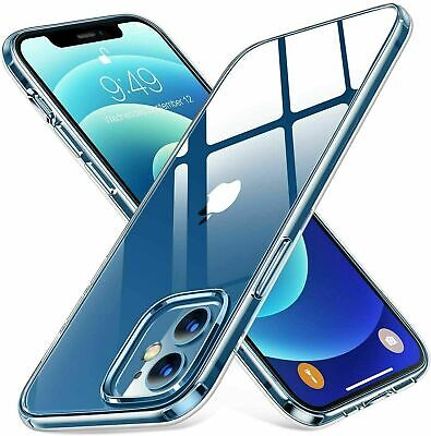 £3.79 • Buy CLEAR Case For IPhone 11 12 13Pro Max SE XR  8 7 6 Mini Shockproof Silicone TPU