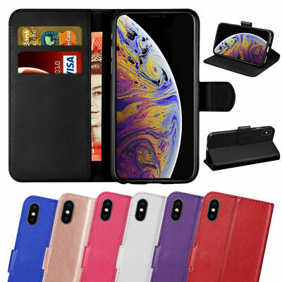 £3.95 • Buy Case For IPhone 11 8 7 6 Plus 12Pro Max Mini XR SE 2 Leather Flip Wallet Cover