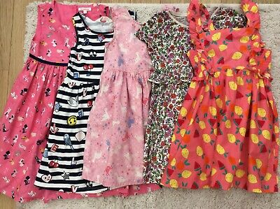 £3.50 • Buy Girls Summer Dresses Age 4-5 Years Blue Zoo,H&M,Next See Info