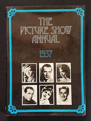 £0.99 • Buy THE PICTURE SHOW ANNUAL 1937 Reissue Film Book From 1970
