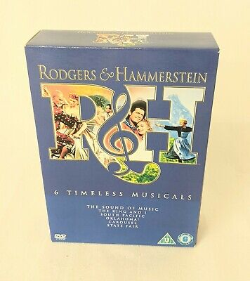 £3 • Buy Rodgers And Hammerstein 6 Timeless Musicals