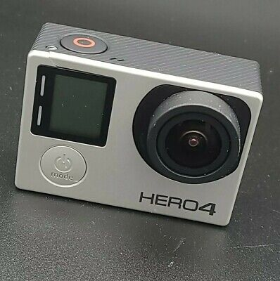 $ CDN121.46 • Buy GoPro HERO 4 Black Edition 4K Action Camera HERO4 With Case And Mount