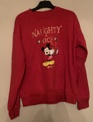 £2.50 • Buy Womens Mickey Mouse Sweater Size XS 4-6 Never Worn