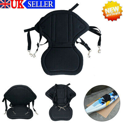 £16.54 • Buy Deluxe Kayak Seat Adjustable Sit On Top Canoe Back Rest Support Cushion Safety