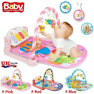 £22.68 • Buy Baby Game Pad Music Pedal Piano Music Fitness Rack Crawling Mat Play Hanging Toy
