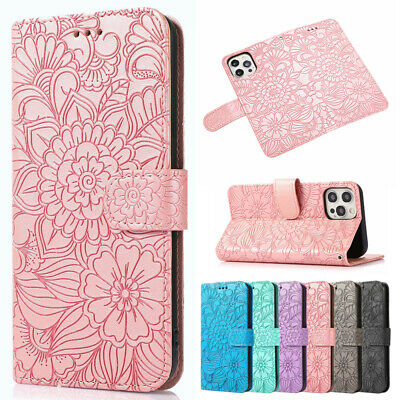 AU13.99 • Buy For IPhone 13 12 11 Pro Max XS XR SE 8 7 Wallet Case Leather Magnetic Flip Cover