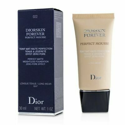 £24.99 • Buy DIOR DIORSKIN FOREVER PERFECT MOUSSE MATTE FOUNDATION 30M 022 Cameo