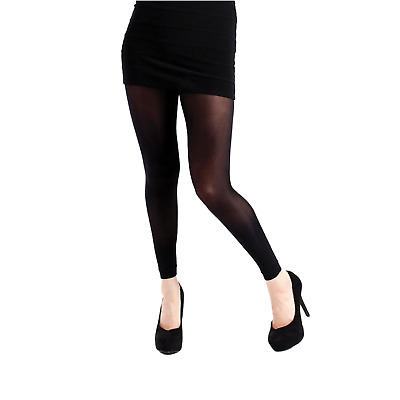 £4.99 • Buy Footless Opaque Quality 50 Denier Adult Women`s Fashion Party Black Tights