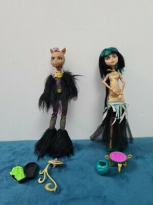 £19.99 • Buy Monster High Ghouls Rule Clawdeen Wolf Cleo De Nile