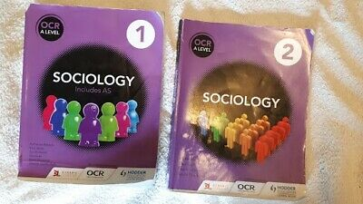 £8 • Buy OCR Sociology 1 And 2  A Level Course Revision Or Work Books
