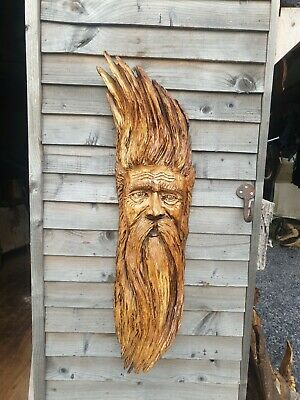 £189.99 • Buy Chainsaw Carved Green Man / Wood Spirit