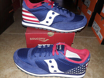 £34.04 • Buy NEW Mens Saucony Jazz Low Pro Uncle Sam Shoes, Size 9