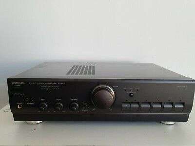 £79.99 • Buy Technics SU-A600 Mk 2 MOS Class AA Integrated Amplifier Phono Stage