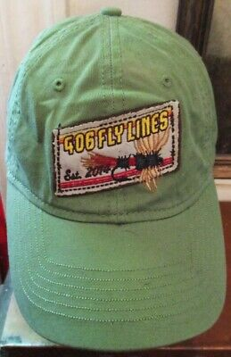 £4.95 • Buy Vintage Multicolor 406 Fly Lines Fishing Lures Baseball Hat