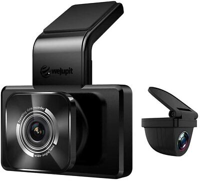 AU122.78 • Buy WeJupit Dual Dash Cam Front And Rear Camera Lens For Cars With WiFi HD 1080P