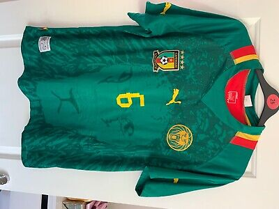 £3 • Buy Cameroon Football Shirt 2012 - Replica - A Song 6 - Large