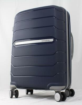 """View Details SAMSONITE FREEFORM 21"""" EXPANDABLE HARDSIDE SPINNER CARRY ON SUITCASE NAVY • 93.10$"""
