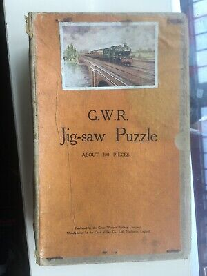£17.99 • Buy Chad Valley: Gwr 200-piece Wooden Jigsaw - The Cheltenham Flyer - Complete!
