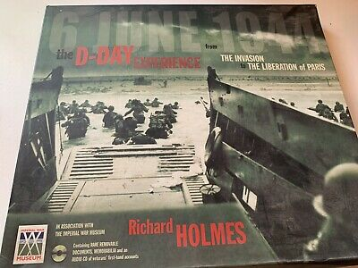 £5 • Buy The D-Day Experience : From The Invasion To The Liberation Of Paris, Holmes, Ric
