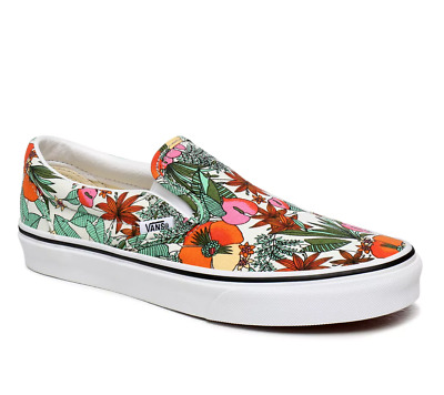 £49.99 • Buy VANS Classic Slip On Multi Tropic Womens UK 4 & 5 Canvas Floral Trainers Shoes