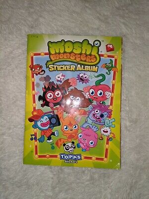 £1.99 • Buy Moshi Monsters - Sticker Collection Book Partly Full