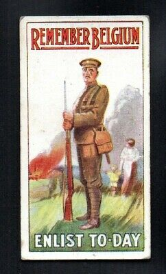 £2.72 • Buy Remember Belgium Enlist Today 1915 Wills Cigarettes Recruiting Posters Excellent