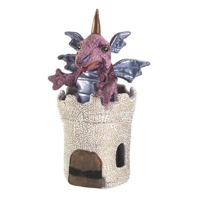 £35 • Buy Folkmanis Dragon In Turret Puppet - New