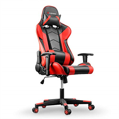 AU280.89 • Buy Mfavour Gaming Chair PC Office Chair High Back Racing Style Executive Computer