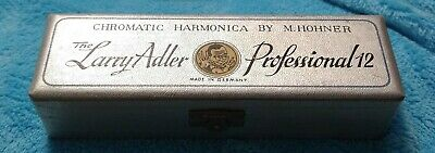$50 • Buy Chromatic Harmonica By M.Hohner The Larry Adler Professional 12 Made In Germany