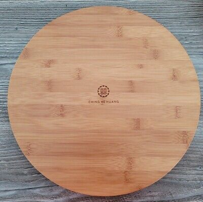 £11.85 • Buy Ching He Huang Rotating Wooden Round Lazy Susan Turntable Serving Plate