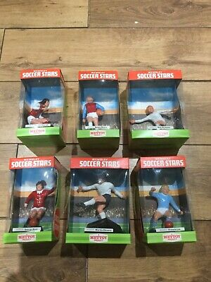 £299.99 • Buy Vintage Mettoy Wembley Soccer Stars - Complete Set Of 6 Ex / Mint Condition