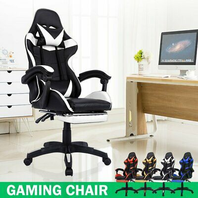 AU124.69 • Buy Gaming Chair Office Executive Computer Chairs Seating Racing Racer Recliner