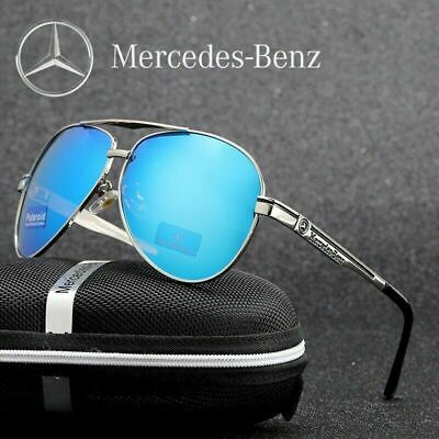£3.96 • Buy Mercedes Benz Glasses Polarized Sunglasses 5 Colors With Box Classic Driving UK