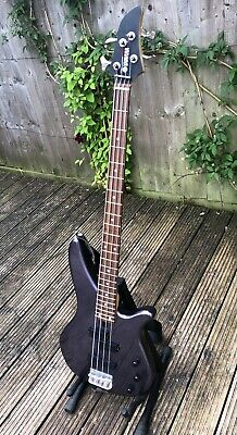 £70 • Buy Yamaha Electric Bass Guitar RBX270J Purple With Stand, Bag, Practice Amp
