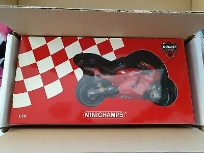 £180 • Buy Minichamps 1:12 Troy Bayliss Signed Certificated Ducati 2006 MotoGP Valencia
