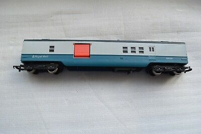 £9.99 • Buy Hornby R119 00 Gauge BR Royal Mail TPO Mail Coach-Blue/Grey Livery M30224(A5)