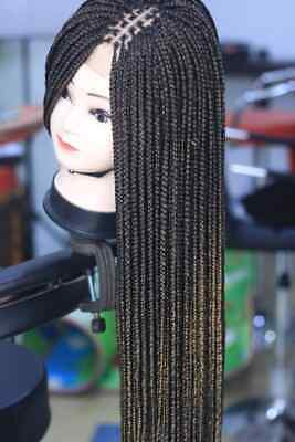 £70 • Buy Knotless Braids, Box Braids Wig, In Color Black And Brown Ombre, Very Beautiful