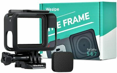 $ CDN18.86 • Buy Wealpe Frame Mount Case Housing Compatible With GoPro Hero 7 Black/Silver/White