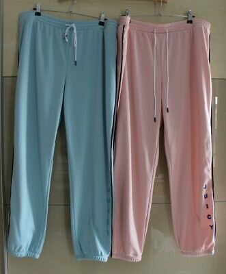 £25 • Buy New Juicy Couture Soft Cosy Fleece Lined Jogger Xl Choose Colour - Pink Or Blue