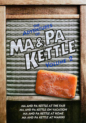 $6.99 • Buy The Adventures Of Ma And Pa Kettle - Volume 2 (DVD, 2011, 2-Disc Set)