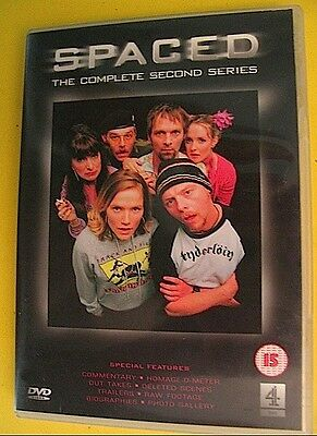 £4.95 • Buy Spaced DVD Box Set The Complete Second Series Simon Pegg Nick Frost PAL REGION 2