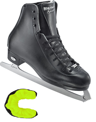 $164.95 • Buy Riedell Emerald Men's Skate Size 10 Black Figure Ice Skates, New With Tuffterrys