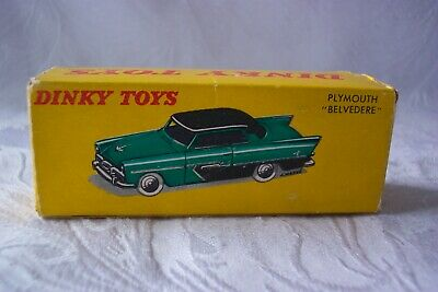 £19.99 • Buy French Dinky 24d Plymouth 'belvedere'  Original Empty Box Good To Good Plus