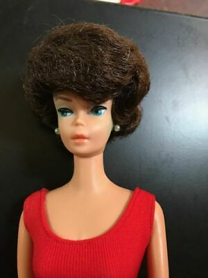 $ CDN48.58 • Buy Barbie Bubble Cut Doll #850 Red Helenca Swimsuit Vintage 1963 Nice Condition