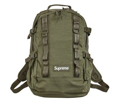 $ CDN200.40 • Buy Supreme Backpack (FW20) Olive FAST FREE SHIPPING