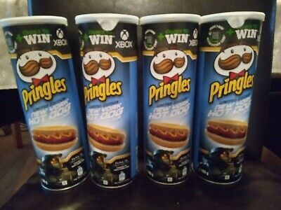 £0.99 • Buy 4 X Pringles New York Hot Dog Flavour Limited Edition 165g  Tubes