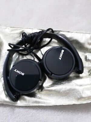 £10 • Buy Sony MDR-ZX110 Stereo / Monitor Over-Head Headphones Black